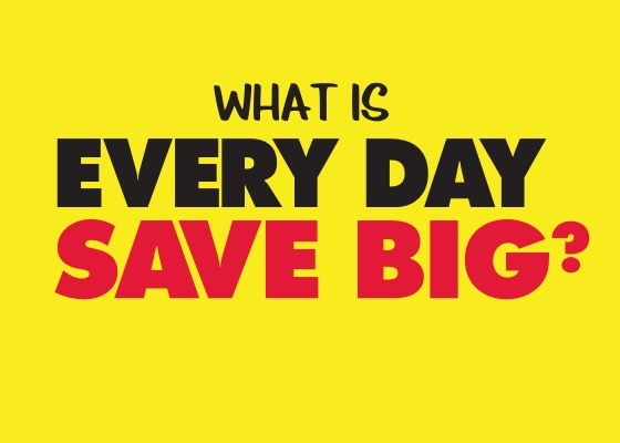 What is Every Day Save Big
