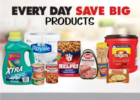 Every Day Save Big Products