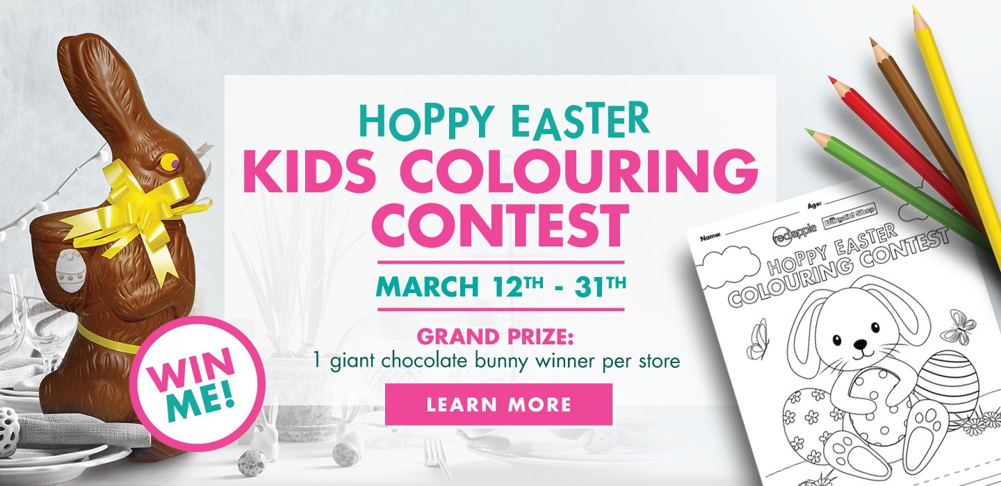 Easter Colouring Contest